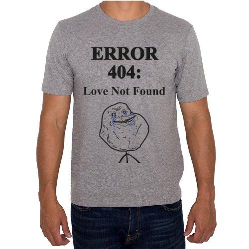 Fotografía del producto ERROR 404: Love Not Found Gris (46350)