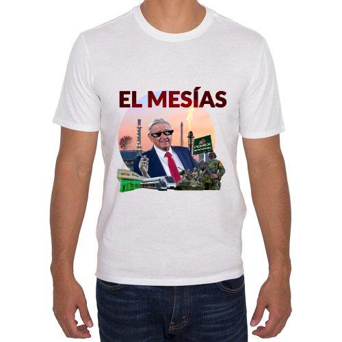 Fotografía del producto Playera de AMLO - El mesías mexicano (46922)