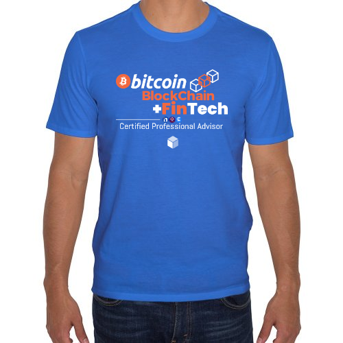 Fotografía del producto Playera del Curso y Certificación Bitcoin, Blockchian + FinTech (47279)