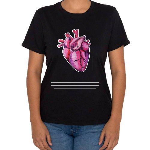 Fotografía del producto Heart - Mujer playera (47843)