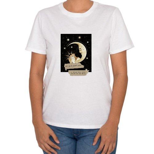 Fotografía del producto Woman moon - Mujer playera (47930)