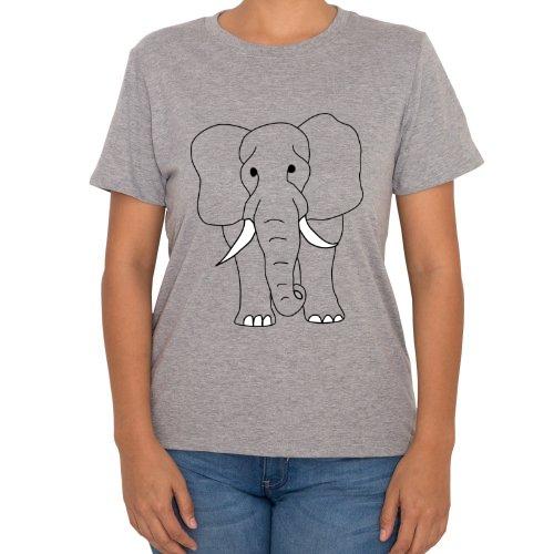 Fotografía del producto Elefante Frente y Reverso (48891)