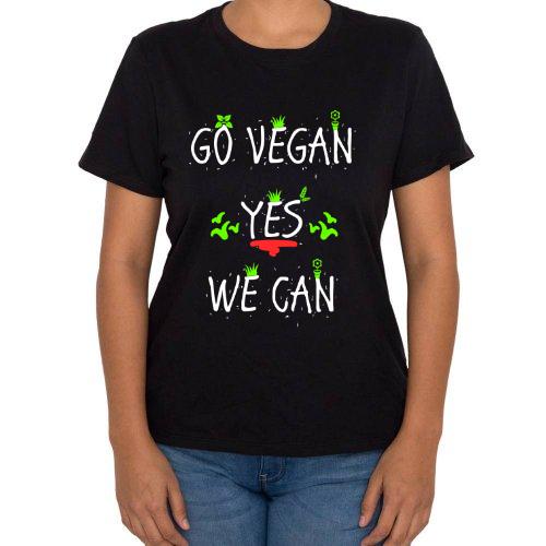 Fotografía del producto Go Vegan Yes We Can (Mujer) (48974)