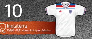 Jersey Fútbol Inglaterra 1980-1983