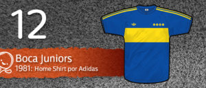 Jersey Fútbol Boca Juniors 1981