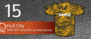 Jersey Fútbol Hull City 1992-1993