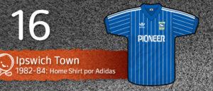 Jersey Fútbol Ipswich Town 1982-1984