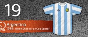 Jersey Fútbol Argentina 1986