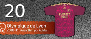 Jersey Fútbol Olympique de Lyon 2010-2011