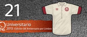 Jersey Fútbol Universitario 2013