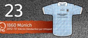Jersey Fútbol 1860 Múnich 2012-2013
