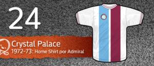 Jersey Fútbol Crystal Palace 1972-1973