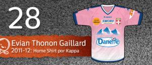 Jersey Fútbol Evian Thonon Gaillard 2011-2012