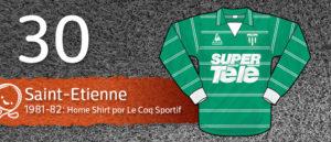 Jersey Fútbol Saint-Etienne 1981-1982