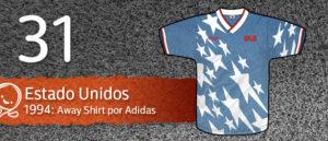Jersey Fútbol Estados Unidos 1994