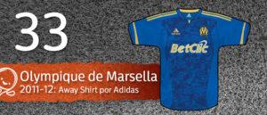 Jersey Fútbol Olympique de Marsella 2011-2012