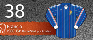 Jersey Fútbol Francia 1980-1984