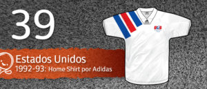 Jersey Fútbol Estados Unidos 1992-1993