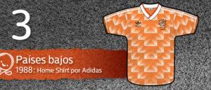 Jersey Fútbol Países Bajos 1988