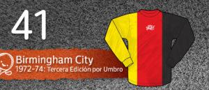 Jersey Fútbol Birmingham City 1972-1974