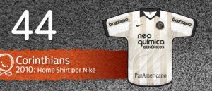 Jersey Fútbol Corinthians 2010