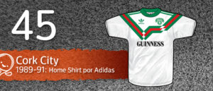 Jersey Fútbol Cork City 1989-1991