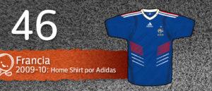 Jersey Fútbol Francia 2009-2010