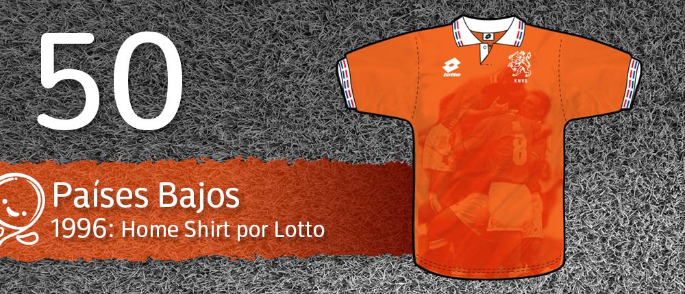 Las 50 mejores camisetas de la historia del Fútbol  924b11f5b1e68
