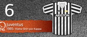 Jersey Fútbol Juventus 1985