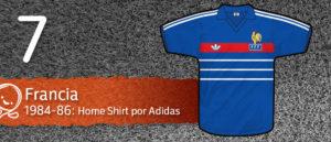 Jersey Fútbol Francia 1984-1986