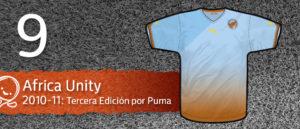 Jersey Fútbol Africa Unity 2010-2011