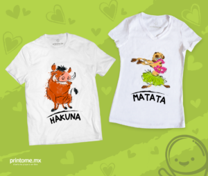 c877fe7530d50 Imprime amor y amistad en playeras - Diseñar y personalizar playeras ...