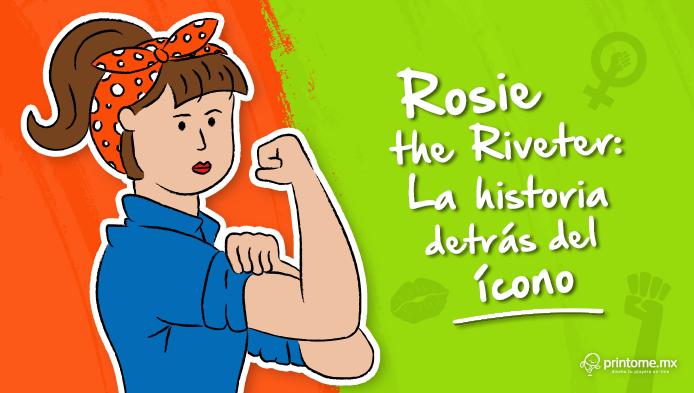 Rosie the Riveter  La historia detrás del ícono - Diseñar y personalizar  playeras en minutos  9f0ca75bfceaf